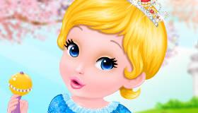 Baby Cinderella S Bath Game My Games 4 Girls
