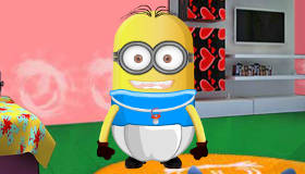 Baby minion room decoration game my games 4 girls for Baby room decoration games online