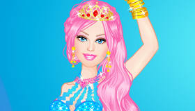Barbie Mermaid Dress Up Game - My Games 4 Girls