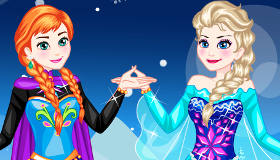 Frozen Sisters Dress Up Game - Elsa and Anna - Princess Games